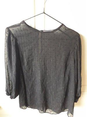 PrimeMark Linen Blouse black