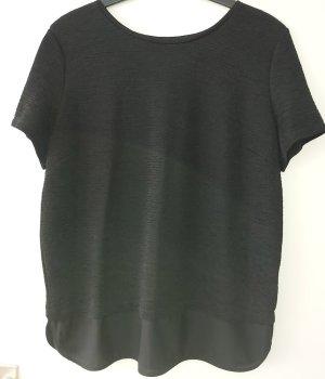 Clockhause Short Sleeved Blouse black