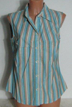 Aktuell Blusa senza maniche multicolore