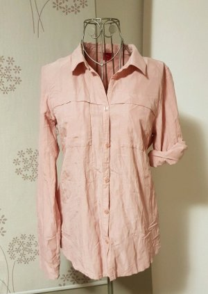 s.Oliver Crash Blouse dusky pink