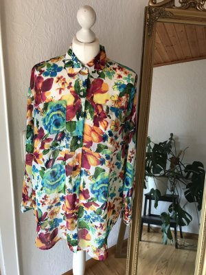 American Apparel Blouse oversized multicolore polyester