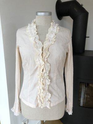 Bluse aus besonderem Stoff