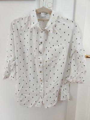 Bluse aus hochwertiger Viskose mit Perlmuttknöpfen von Promod