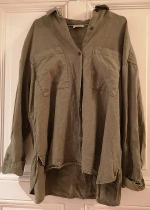 American Vintage Long Sleeve Shirt multicolored linen