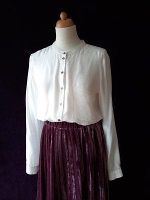 Twist & Tango Blusa in seta bianco