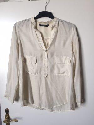 Bluse aus Seide-Viskose Mix Gr. M
