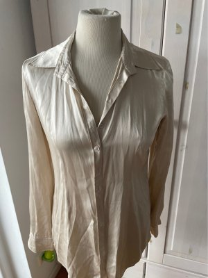 GCfontana Blusa in seta bianco sporco