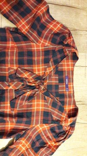 Mexx Blusa con lazo azul oscuro-naranja oscuro