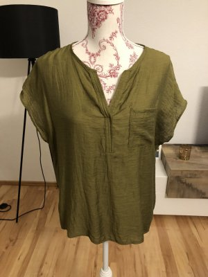 CANADA Short Sleeved Blouse green grey