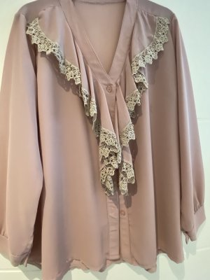 Boutique Ware Ruffled Blouse rose-gold-coloured