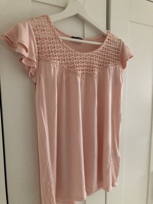 C&A Crochet Top pink