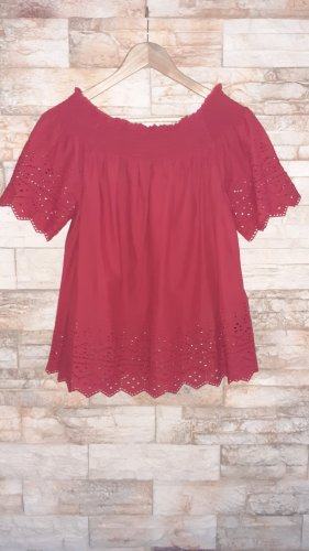 Only Blouse Carmen rouge