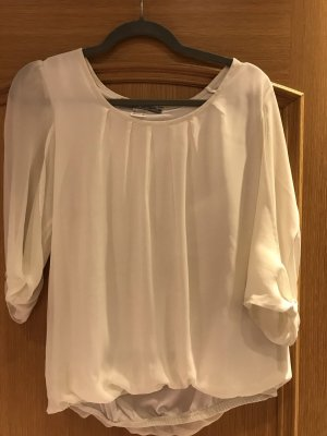 Ashley Brooke Blouse à manches longues blanc