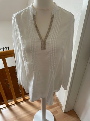 Oui Linen Blouse natural white