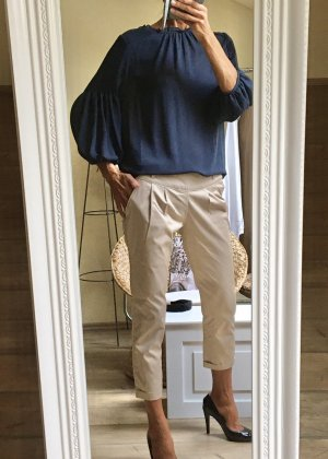 Sfera Blouse Shirt steel blue