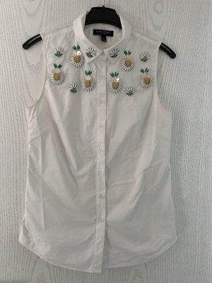 Banana Republic Mouwloze blouse wit Katoen