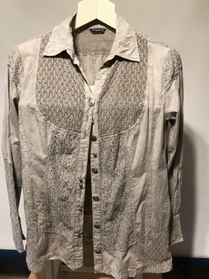 Body Needs Lace Blouse silver-colored