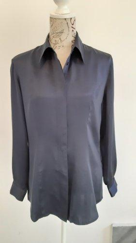 Alba Moda Zijden blouse blauw
