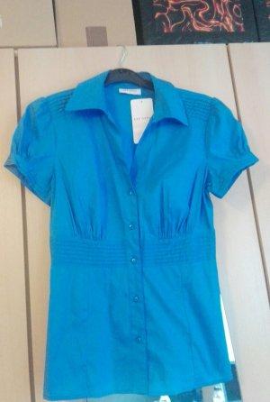 Bluse Blau Gr. 34, NEU