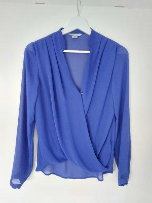 Bluse blau Gr. 36