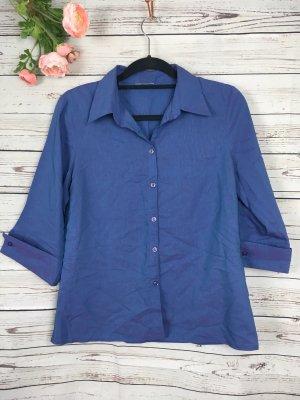 Bluse Blau Lila 40