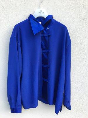 Bluse blau oversized