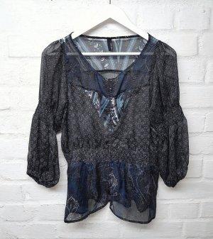 Vero Moda Transparante blouse veelkleurig Polyester