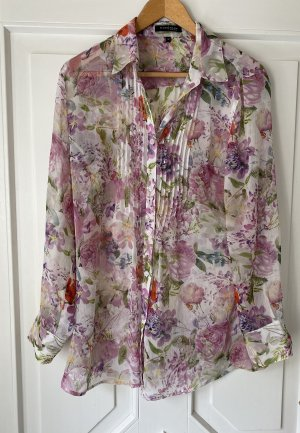 Bluse Blumen Floral Mark Adam New York Transparent 42