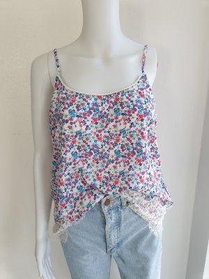 Bluse Blumen T-shirt Tshirt Shirt Top Tanktop Bluse Hemd Pullover cardigan jacke mantel