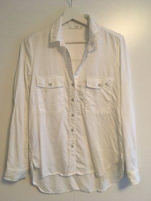 Bluse / Blusenhemd Mango S / 36 weiß