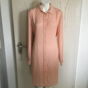 Mango Long Blouse apricot mixture fibre