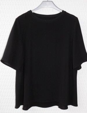 Bluse/Blusenshirt Gr.36 in schwarz