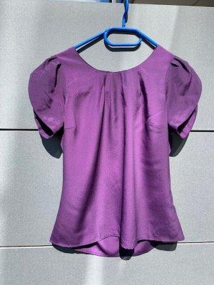 Bluse Blusentop C&A lila neu Gr. 36 / S
