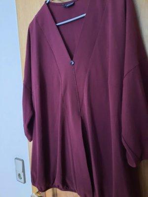 Oversized blouse bordeaux