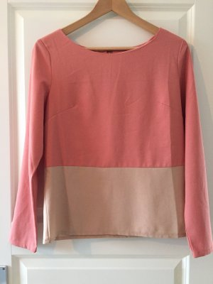 Anny Long Sleeve Blouse rose-gold-coloured