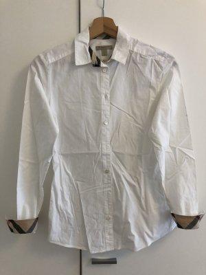 Burberry Brit Long Sleeve Blouse white-beige