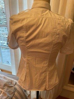 Burberry Brit Short Sleeved Blouse white-beige