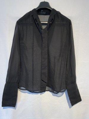 0039 Italy Cols de blouses noir
