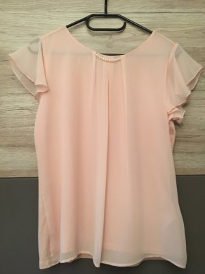 Orsay Blouse avec noeuds abricot