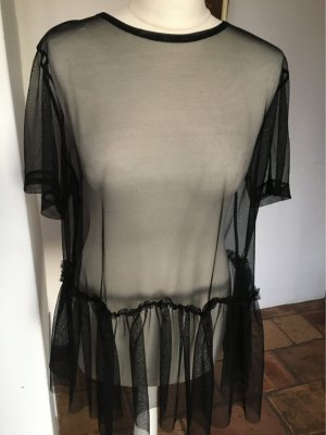 H&M Slip-over Blouse black