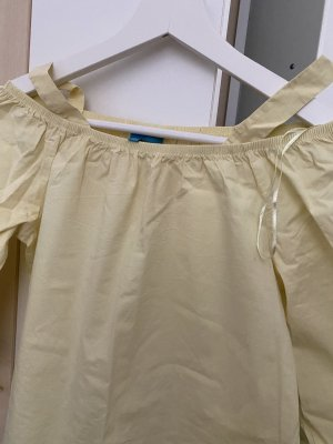 Coolwater Long Sleeve Blouse pale yellow