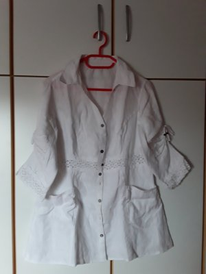 Linnen blouse wit