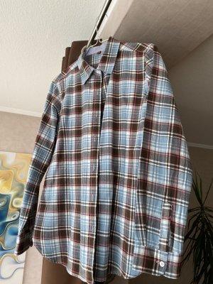 Camicia a scacchi multicolore Cotone