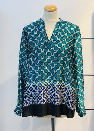 Caliban Silk Blouse multicolored