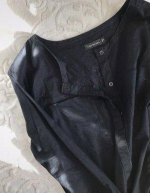 Calvin Klein Jeans Bluzka z długim rękawem czarny Bawełna