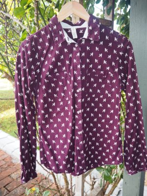Campus by Marc O'Polo Long Sleeve Blouse brown violet