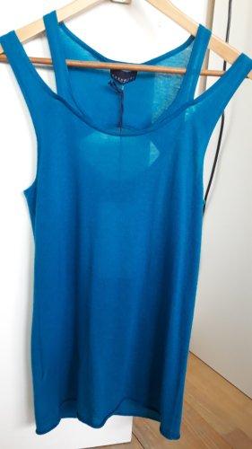 Bluse Caschmere made by STEFANEL, Gr. L; Neu; Türkis; 100% Kaschmir