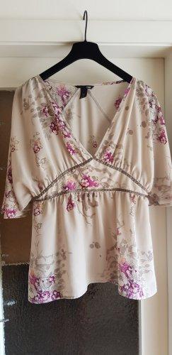H&M Bluzka kimono Wielokolorowy