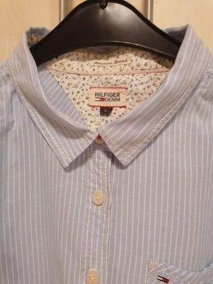 Tommy Hilfiger Shirt Blouse pale blue-azure