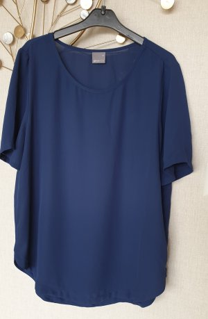 Gina Tricot Blouse topje donkerblauw